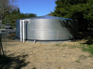 Small water tank
